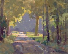 Troy Kilgore | Morning Light | Painted at Hayes Arboretum during the Richmond Paint Out