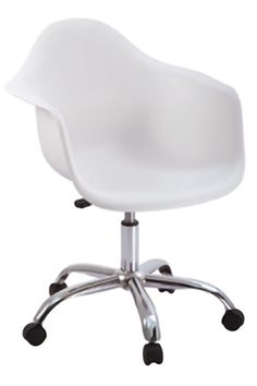 Available in white. Charles Eames, Chrome, Chair, Sally, Html, Furniture, Base, Home Decor, Home Ideas
