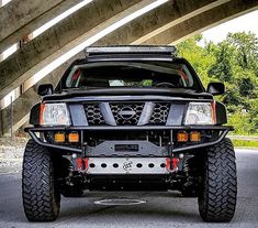 Xterra off road bumper/winch