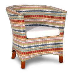 Funstripes U Club Chair made by Island Home . Perfect Perfect Love it