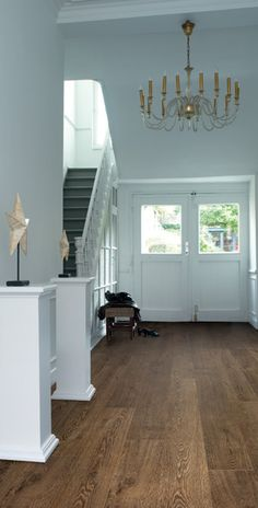 Bellacera sun river laminate in a home that we did for Intuitive laminate flooring