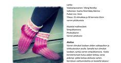 Herkkuhetkisukat, ohje.pdf Socks, Sock, Stockings, Boot Socks, Hosiery