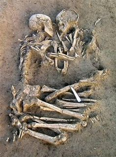 "This makes my soul quiver. This is both dark and beautiful... Human skeletons unearthed in Mantua, Italy - ""Forever Together"""