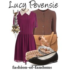 """Lucy Pevensie"" by fofandoms on Polyvore"