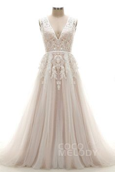 Cocomelody Wedding Dresses A-Line LD3932