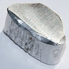 Aluminium (or aluminum; see spelling differences) is a chemical element in the boron group with symbol Al and atomic number It is a silvery white, soft, ductile metal. Crystals Minerals, Rocks And Minerals, Mineral Stone, Rocks And Gems, Heavy Metal, Pure Products, Gemstones, Silver, Atomic Number
