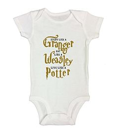 Cute Harry Potter Shirt or Onesie Funny Kids Clothing - L...