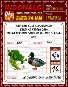 Kodal Lotre 3D Togel Wap Online Live Draw 4D Indonalo Samarinda 13 Desember 2016