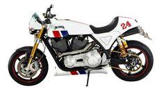 Hesketh 24 : la moto vintage au bon goût de F1