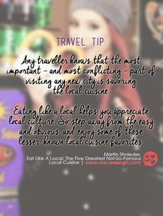 Here's a travel tip from Ms Career Girl!