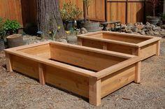 Garden planter box