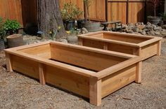 Garden Box Designs | Pressure Treated Lumber – Backyard Projects: Planter Box