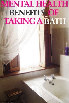 Fighting anxiety or depression? Take a bath and see the many mental health…