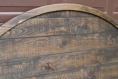 Headboard redo to old wood