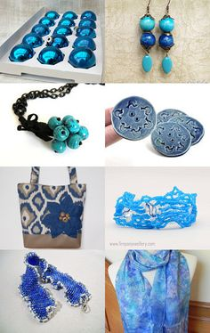 So blue! by Val and Jeff on Etsy--Pinned with TreasuryPin.com