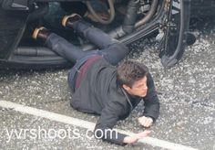 From:Susan Gittins ‏@YVRShoots  25m Barry Allen (Grant Gustin), aka #TheFlash,  in simulated car wreck in downtown Vancouver today http://yvrshoots.com/2014/03/shoot-the-flashs-grant-gustin-in-car-wreck-near-dunsmuir-viaduct.html#.UxzaI5WPKtg …