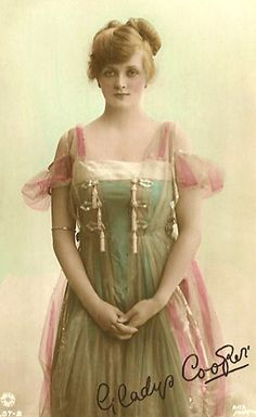 gladys cooper- A dress of perfection to wear only at night.