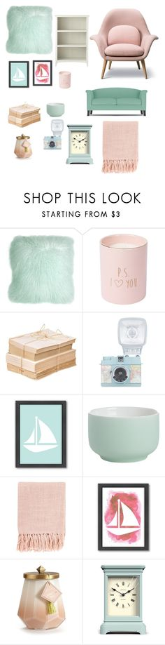 """""""Untitled #347"""" by gabrielarent ❤ liked on Polyvore featuring interior, interiors, interior design, home, home decor, interior decorating, Pillow Decor, Americanflat, CB2 and Surya"""