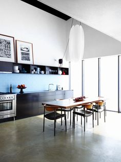 Home of Kevin O'brien for Vogue's Kitchen and Bathroom Special