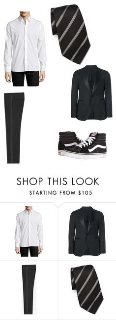 """Austin Prom"" by percabethforever156 ❤ liked on Polyvore featuring J.Lindeberg, Tagliatore, Yves Saint Laurent, Giorgio Armani, Vans, men's fashion and menswear"