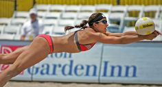 favorite sport & athlete - beach volleyball & Misty May Treanor