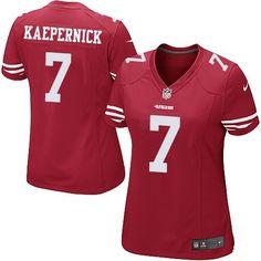 831d2b6c365 Women s San Francisco Colin Kaepernick Nike Scarlet Game Jersey