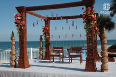 Indian Wedding Decor Company, Occasions by Shangri-La, provides indian wedding mandaps with full service event decor & floral for South Asian weddings.