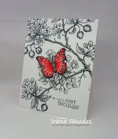Wonderful Gray Days   A CARD in PROGRESS