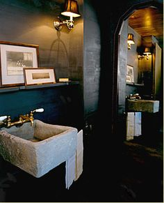 Bobby McAlpine - beautiful design. I have some troughs at Garden Variety Design that would look great in this application