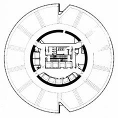 The Stubbins Associates with Architects 61, Treasury Building, Typical Floor Plan, Singapore, 1986