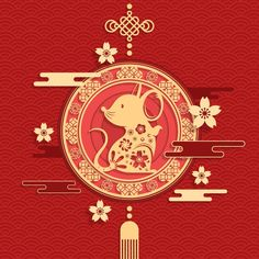 2020 chinese new year Vectors, Photos and PSD files Chinese New Year Design, Chinese New Year 2020, Happy Chinese New Year, Happy New Year Wishes, New Year Greetings, Happy Year, Chinese New Year Decorations, New Years Decorations, Hindu New Year