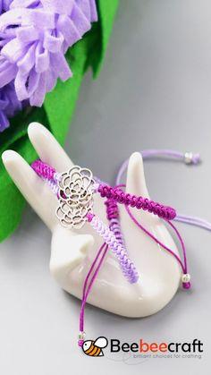 Diy Bracelets With String, Diy Bracelets Easy, Handmade Bracelets, Hemp Bracelets, Handmade Wire Jewelry, Diy Crafts Jewelry, Bracelet Crafts, Jewelry Ideas, Macrame Bracelet Patterns