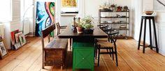 Splendid vintage dining room sets