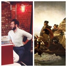 You really can't distinguish our Creative Director from George Washington. Just saying.