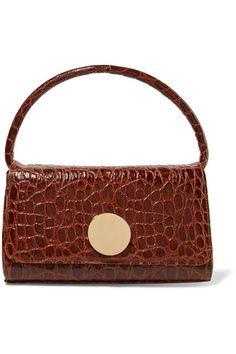 Little Liffner - Baguette croc-effect leather shoulder bag 641310f3ff8dd
