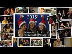 Buchhandlung Wortreich - Jahresrückblick 2015 - YouTube
