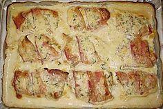 Schweinefilet in Käsesauce