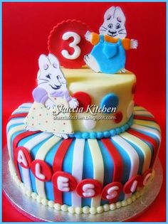 max and ruby cake - Google Search