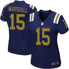 GAME 15 Brandon Marshall New York Jets Jerseys