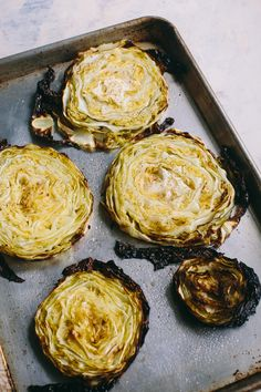 Cabbage Steaks by @t