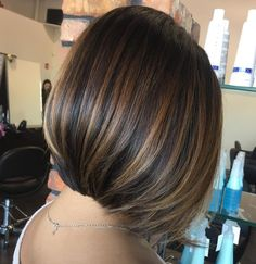 Partial Bronde Balayage for Brunette Bob Coffee Brown Hair, Honey Brown Hair, Coffee Hair, Brown Hair With Blonde Highlights, Short Brown Hair, Hair Color Highlights, Short Hair Cuts, Medium Hair Styles, Short Hair Styles