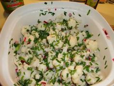 Das perfekte Blumenkohlsalat nach Omas Rezept-Rezept mit einfacher Schritt-für-Schritt-Anleitung: Blumenkohl putzen und in kleine mundgerechte Röschen…