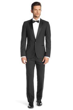 Slim fit tuxedo 'Aden/Hit' by HUGO £550