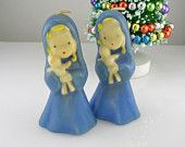 Sweet Little Girls with DOLLS  - GURLEY Christmas Candles Unlit Retro Christmas, Christmas Holidays, Christmas Crafts, Christmas Decorations, Christmas Ornaments, Christmas Stuff, White Christmas, Christmas Ideas, Xmas