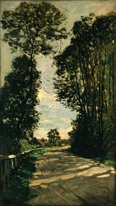 Walk (Road of the Farm Saint-Siméon)  - 1864, Claude Monet, Oil on canvas, The National Museum of Western Art