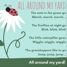 Today I'll be posting my rhymes from our bug-themed episode. This action song to the tune of The Wheels On The Bus is great for getting in…