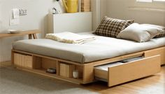 Bed+storage