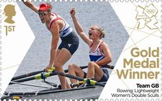 London 2012 Olympic: Royal Mail stamps of the gold medalists