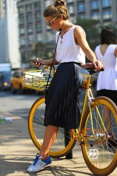 Consejos de moda para andar en bicicleta