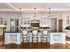 Sarah Michelle Gellar & Freddie Prince Jr. Brentwood Home-Kitchen